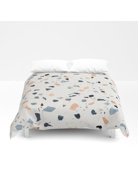 Terrazzo Pattern Duvet Cover by
