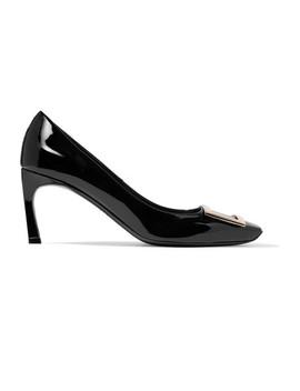 Belle Vivier Trompette 漆皮中跟鞋 by Roger Vivier