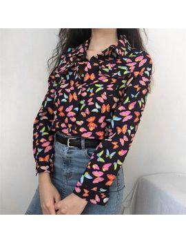 Sinora   Butterfly Printed Jacket by Sinora