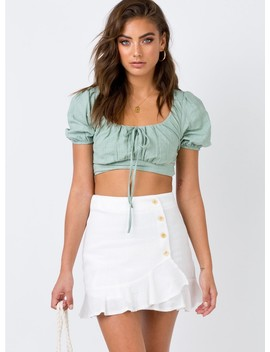 The Emori Mini Skirt by Princess Polly