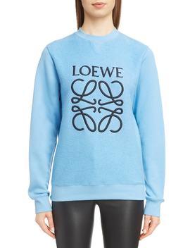 Terry Bodice Logo Sweatshirt by Loewe