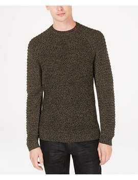 I.N.C. Men's Regular Fit Ottoman Sleeve Sweater, Created For Macy's by Inc International Concepts
