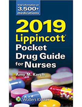 2019 Lippincott Pocket Drug Guide For Nurses by Amazon