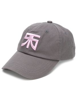 Embroidered Monogram Cap by Raf Simons