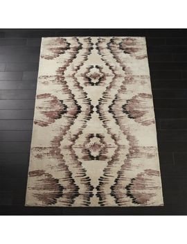 Hue Pink And Copper Rug 8'x10' by Crate&Barrel
