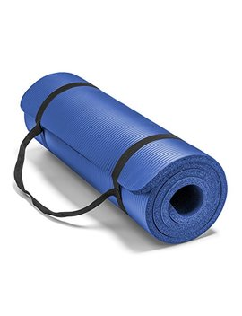 Spoga Premium 1/2 Inch Extra Thick High Density Exercise Yoga Mat With Carrying Strap by Spoga