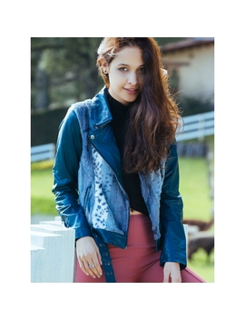 Soft Textured Faux Leather Jacket by Wet Seal