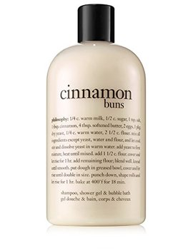 Philosophy Cinnamon Buns Shampoo/Shower Gel/Bubble Bath, 16 Ounces by Philosophy