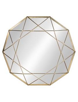 "Keyleigh Metal Decorative Wall Mirror 25""   Kate & Laurel by Kate & Laurel All Things Decor"