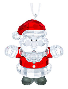 Santa Claus Ornament by Swarovski