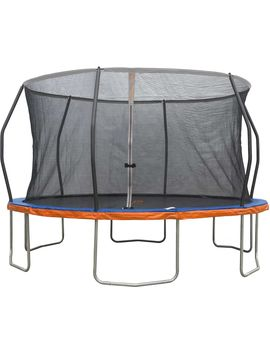 Jump Power 14' Round Trampoline With Safety Enclosure Net by Jump Power