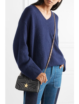 Star Quilted Faux Leather Shoulder Bag by Stella Mc Cartney