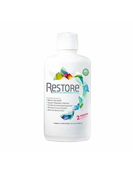 Restore For Gut Health | Restore 4 Life Terrahydrite Humic Substances & Mineral Amino Acid Complexes For Digestive Wellness, Immune Function, Environmental Factors, Mental... by Restore Complete Well Being Begins In The Gut