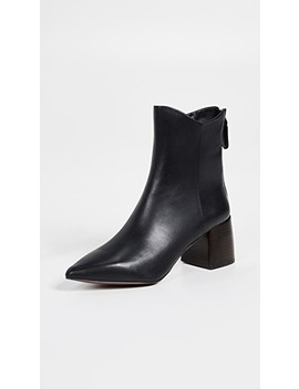 Sadie Block Heel Booties by Senso