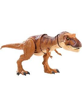 Jurassic World Thrash 'n Throw Tyrannosaurus Rex Figure by Jurassic World Toys