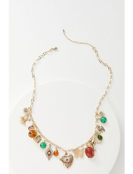 Bits And Baubles Charm Necklace by Anthropologie