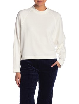 Raglan Crew Neck Pullover by Theory