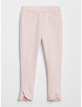 Ruffle Ponte Pants by Gap