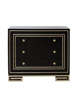 Everly Quinn Mong 3 Drawer Accent Chest & Reviews by Everly Quinn