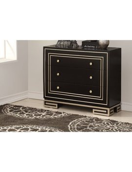 Everly Quinn Mong 3 Drawer Accent Chest by Everly Quinn