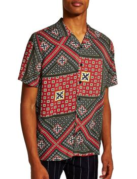Geometric Classic Fit Shirt by Topman