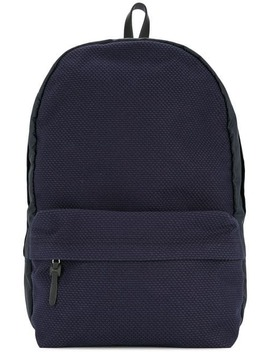 Contrast Panel Backpack by Cabas