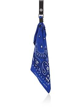 Silk Bandana Key Chain by Amiri