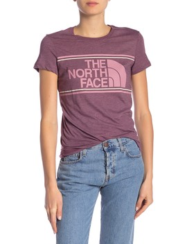 Tri Color Logo Tee by The North Face