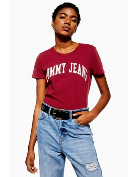 Logo T Shirt By Tommy Jeans by Topshop