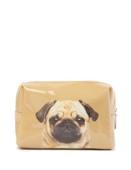 Pug Large Beauty Bag by Catseye London