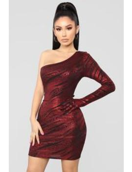 Single Handedly Fierce Mini Dress   Red by Fashion Nova