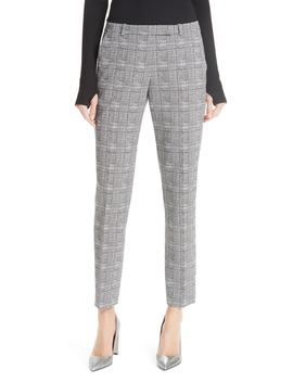 Harile Check Plaid Trousers by Hugo