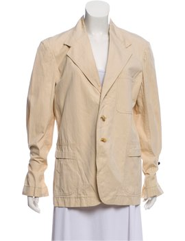 Notched Lapel Unstructured Blazer by Marni