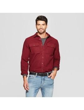 Men's Long Sleeve Pocket Flannel Button Down Shirt   Goodfellow & Co™ by Goodfellow & Co