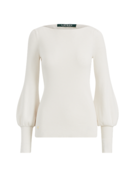 Puff Sleeve Sweater by Ralph Lauren