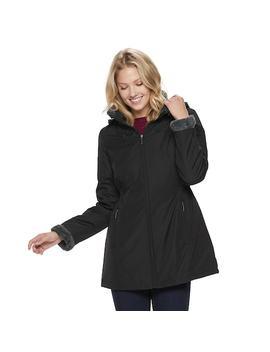Women's Weathercast Hooded Anorak Storm Coat by Kohl's