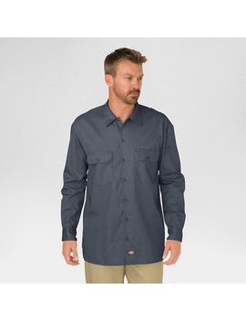 Dickies® Men's Original Fit Long Sleeve Twill Work Shirt by Dickies