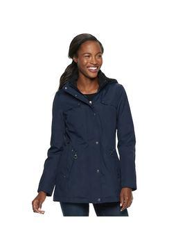 Women's Weathercast Hooded Bonded Anorak Jacket by Kohl's