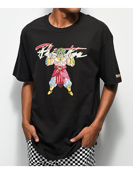Primitive X Dragon Ball Z Broly Black T Shirt by Primitive