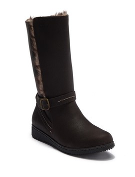 Catrina Waterproof Leather Faux Fur Lined Boot by Northside