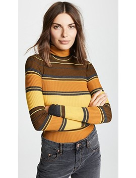 Striped Turtleneck by Acne Studios
