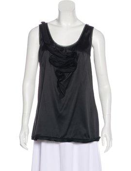 Sleeveless Silk Top by Diane Von Furstenberg