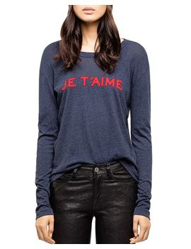 Willy Chine Graphic Tee by Zadig & Voltaire