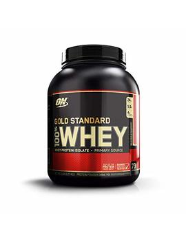 Optimum Nutrition Gold Standard 100 Percents Whey Protein Powder, Strawberry 5 Lb by Optimum Nutrition