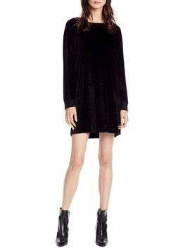 Velvet Sweatshirt Dress by Michael Stars