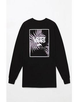 Vans Print Box Long Sleeve T Shirt by Pacsun