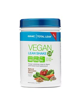 Gnc Total Lean Vegan Lean Shake 25   Natural Chocolate 1.7 Lb by Gnc