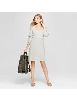 Women's Long Sleeve Sweater Dress   A New Day™ by A New Day