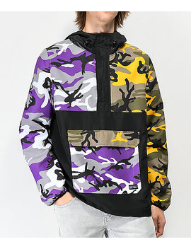 Rothco X Vitriol Cobra Camo Colorblocked Anorak Jacket by Vitriol