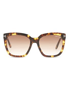 Amara Tf502 Square Frame Sunglasses by Tom Ford